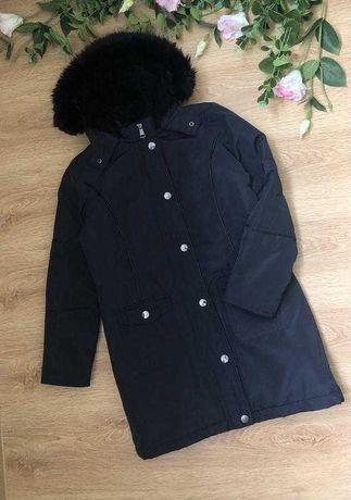 Демисезонная удлиненная курточка 11-12 лет River Island