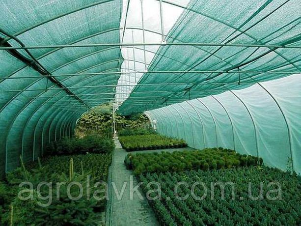 Сетка притеняющая для дома\сада\огорода 45,60,80,99% притен. (50-100м)