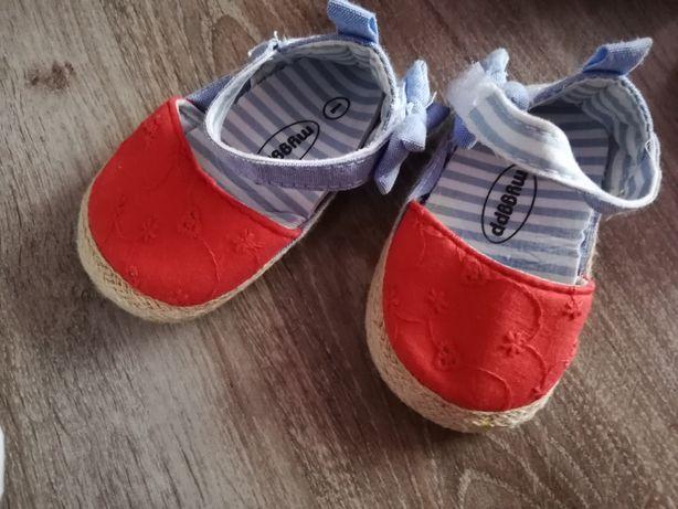 Sandałki niechodki