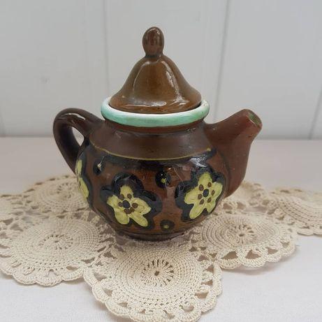 Чайник из глины,  сувенир ссср. Редкость. Для украшения интерьера