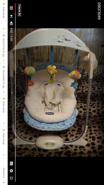 Кресло-качалка для малыша Swing Polly