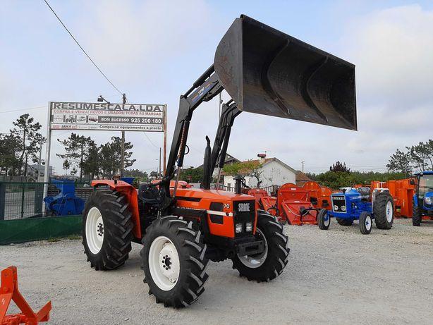 Tractor/Trator Same Explorer 70 Special com carregador frontal