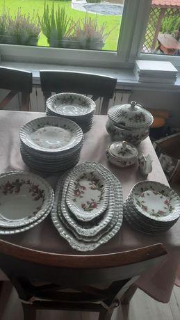 Zestaw obiadowy Chodzież porcelana