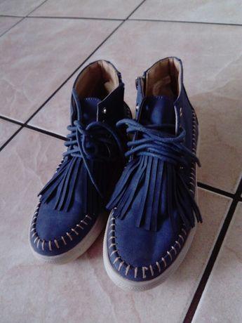 Śliczne buty fredzle 30.