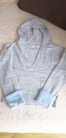 Ciepły sweter kangurek S