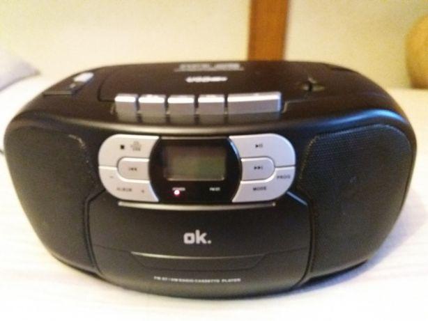 GRATIS ORC 500B radio magnetofon odtwarzacz cd radiomagnetofon mp3