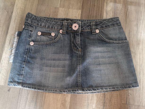 Spódniczka jeans rozm 36