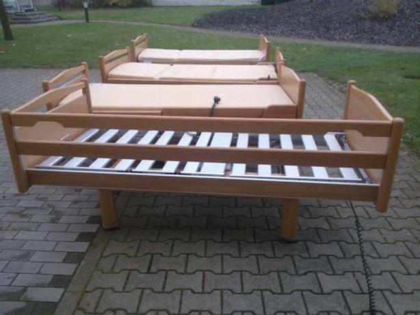 łóżko rehabilitacyjne, nowy materac i szafka w cenie!!!
