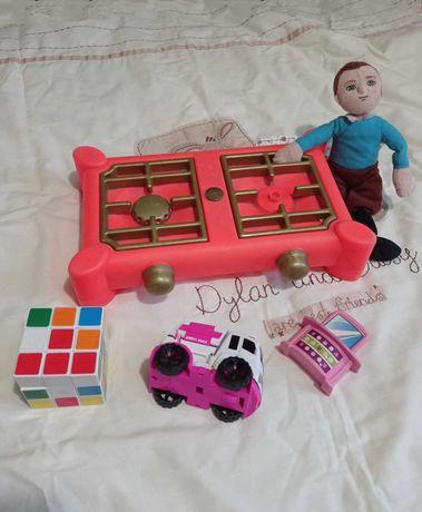 Газ.плита мальчик машинка кубик Рубика трюмо пакет игрушек