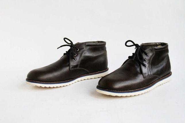 кожаные ботинки Next . Ecco, Geox, Lowa, Dockers