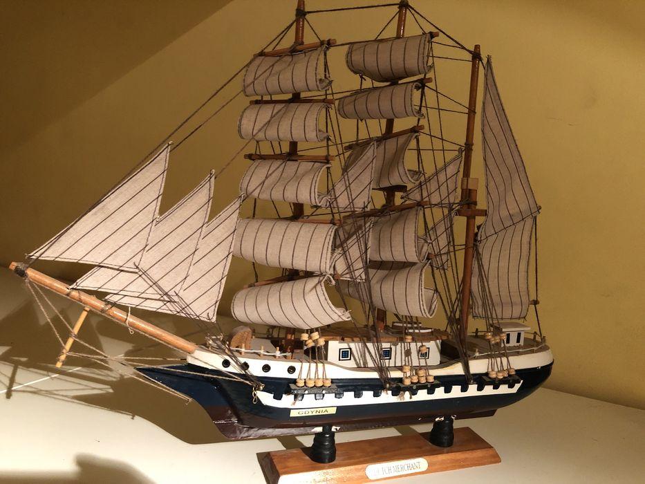 Model Holenderskiego żaglowca Warszawa - image 1