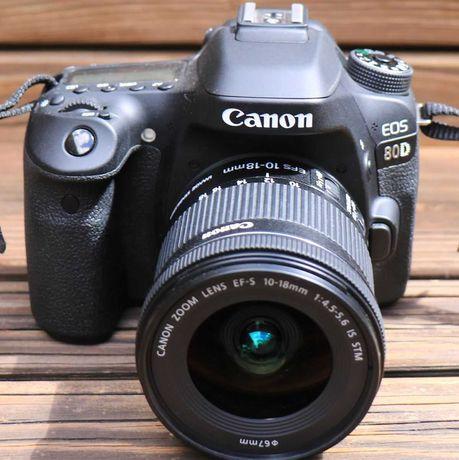 Canon EOS 80D (corpo), poucos disparos