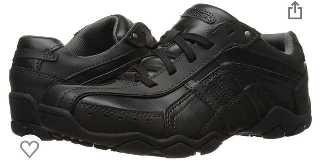 Новые кожаные ботинки skechers 42р, 27см, туфли skrchets, ботинки ecсo