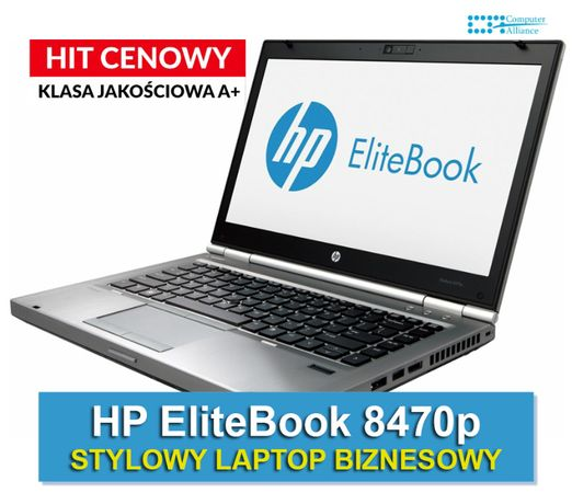 HP 8470p Laptop notebook | i5-3320M | 4GB | 120GB | Intel HD | Klasa A