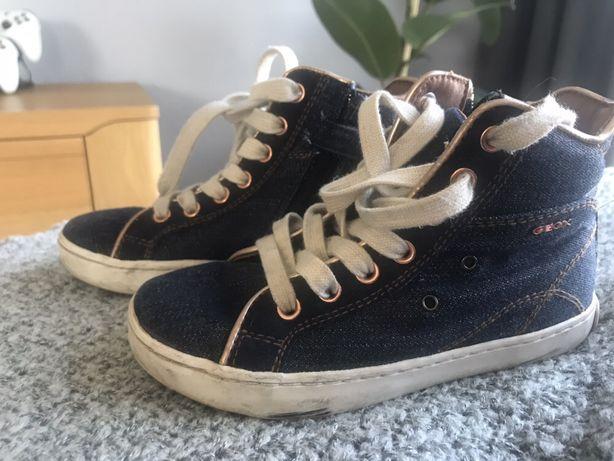 Sneakersy trampki GEOX r.29 stan idealny jeansowe