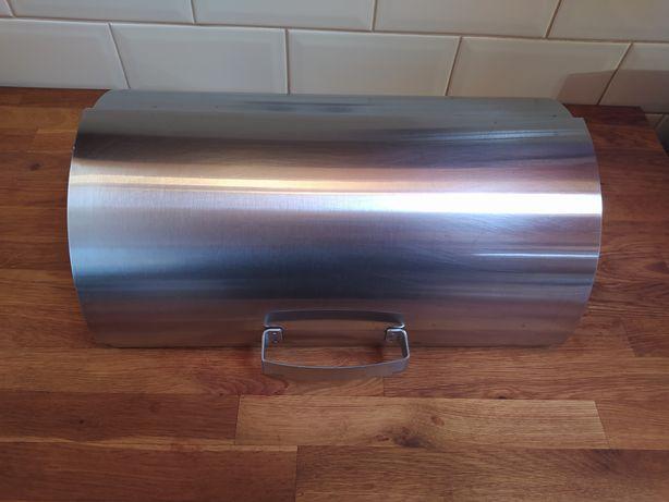 Caixa para pão IKEA em aço inox