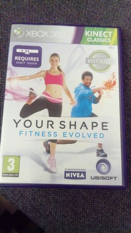 Gra Xbox 360 Kinect Fitness Evolved-Your Shape Personal Trener w domu!