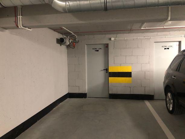 Miejsce w hali garażowej wraz z komórką Gdańsk Wrzeszcz Browar Gd