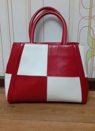 Стильная,и оригинальная натуральная кожаная сумка Fashion. Солоницевка - изображение 1