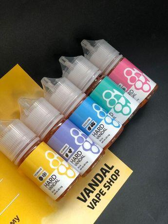 Жидкость солевой никотин 65 мг HARD VANDAL/HYPE/DISCO FRUITS/NOMAD 30м