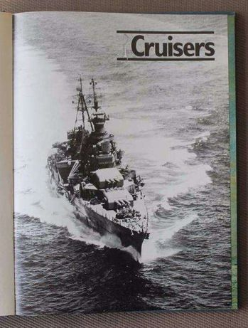 Livro Cruisers de Antony Preston