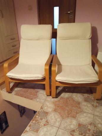 2 fotele finka kolor biały