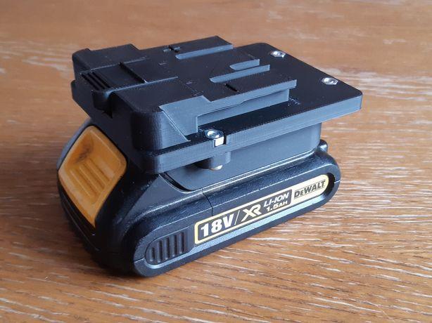 Adapter baterii, akumulatora dewalt, stanley, einhell, parkside, niteo