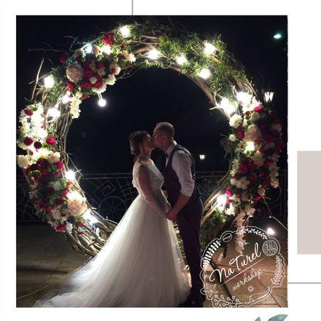 Арка свадебная, декорация