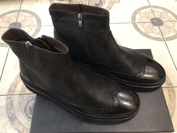 Зимние ботинки,Giardini,Итальянский бренд,мужские.