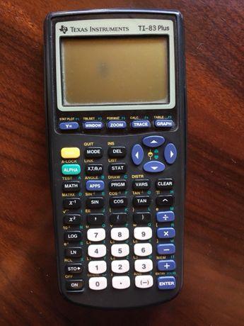Vendo máquina calcular Texas TI 83 plus