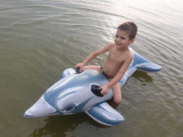 Дельфин матрас Intex