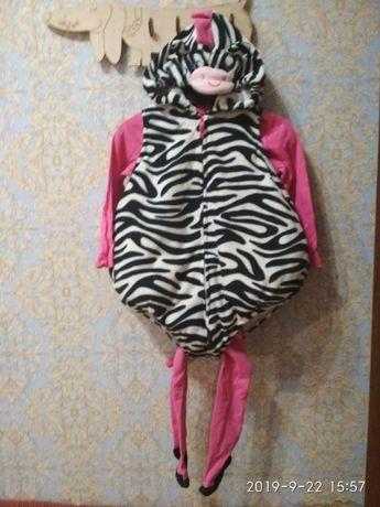 Новогодний карнавальный костюм Картерс зебра