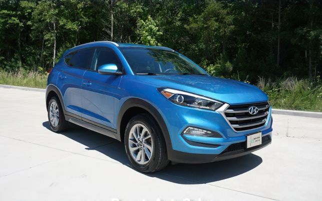 продаж Hyundai Tucson 2017