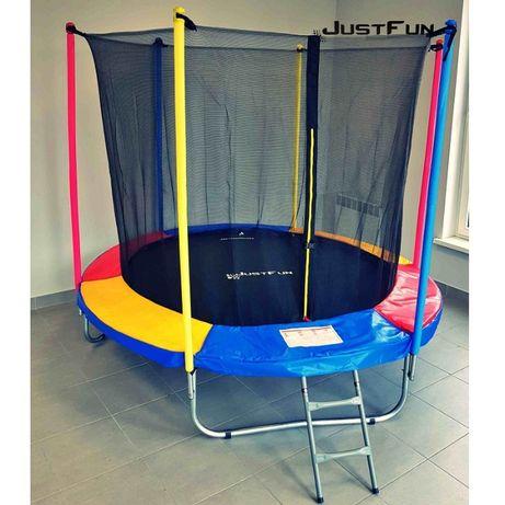 Детский батут с внутренней сеткой • Just Fun 305 см • 2 цвета / Польша