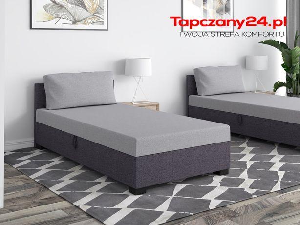 Łóżko jednoosobowe Tapczan młodzieżowy hotelowy z poduszką GRATIS