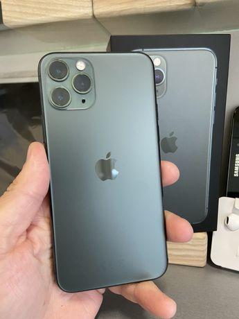 iPhone 11 Pro 64gb Midnight Green Neverlock новий стан акб 93