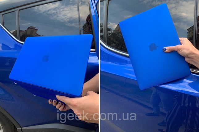 Накладка-чехол на ноутбук MacBook Pro/Air 12/13.3/15.4/16 пластиковая