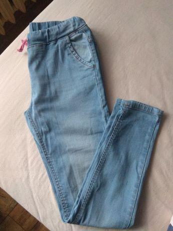 Jeansy jegginsy dziewczęce Cool Club rozmiar 158