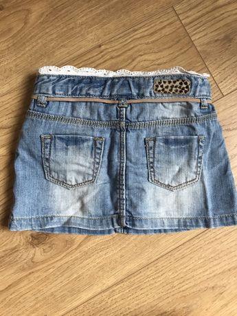 Spódniczka jeansowa Zara 86cm