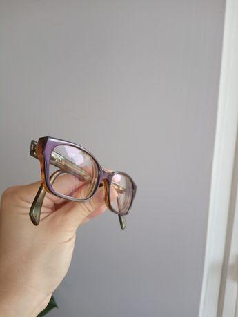 Oprawka niebieska okulary korekcyjne