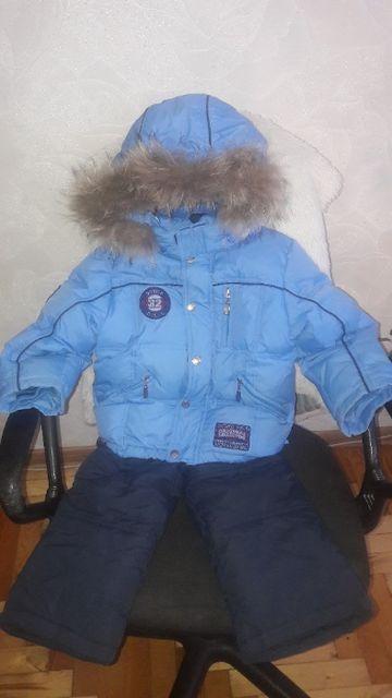 продам детский зимний костюм для мальчика