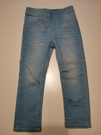 Legginsy jeansowe H&M