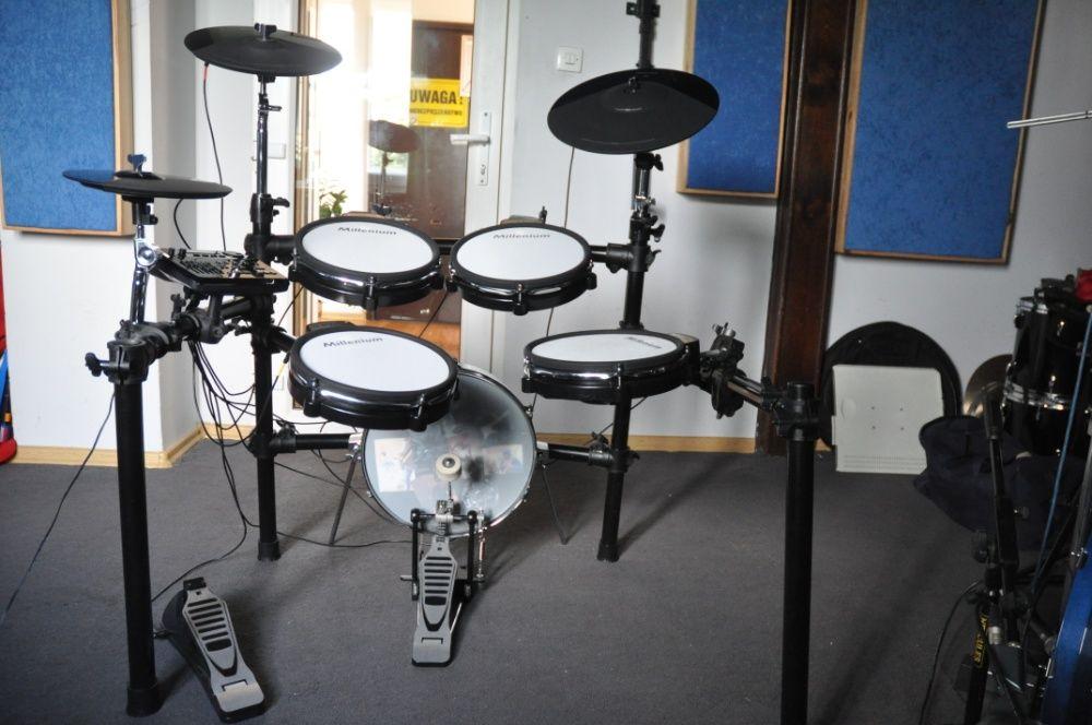 Perkusja elektroniczna - Millenium MPS-750 Naciągi siateczkowe-komplet