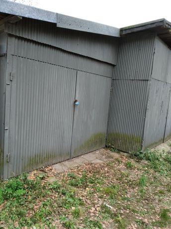 Garaż metalowy 7/7metrow