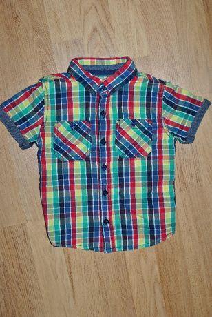Рубашка f&f короткий рукав на 2-3 года