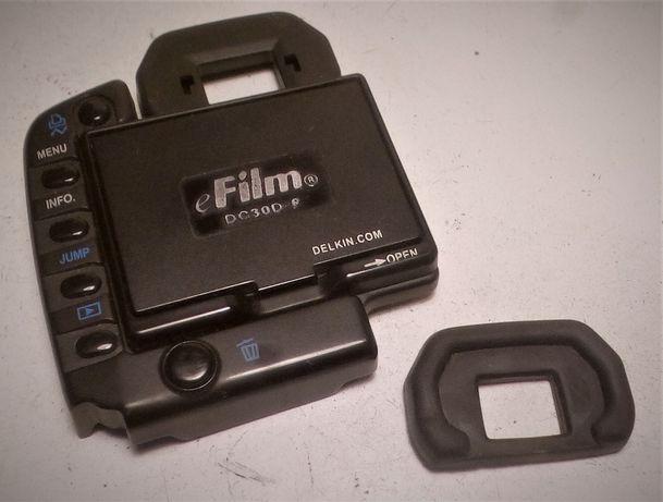 osłona przeciw odblaskowa na tylny panel aparatu Canon 30D