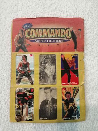 Альбом с наклейками: COMMANDO
