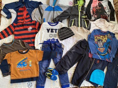 Пакет вещей на мальчика, 4-6 лет