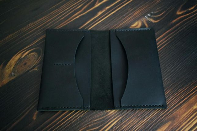 Кожаная обложка для документов. Изделия из натуральной кожи