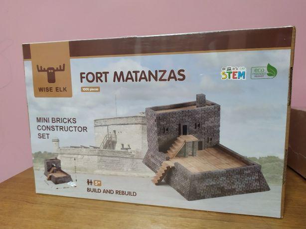 Продам керамический конструктор с кирпичами Wise Elk Форт Матансас